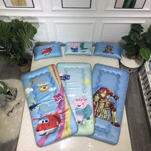 婴儿床垫夏季床褥子垫被宝宝午睡垫小床垫防水冰丝新生可拆洗定制
