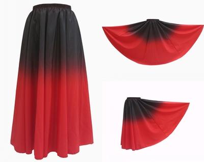 新疆维吾尔族彝族藏族舞练习广场演出服装舞蹈服饰大摆维族裙热卖