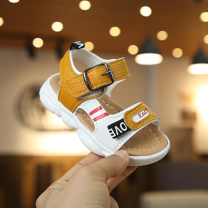 10-10新券童鞋男童凉鞋2019新款夏季小熊鞋宝宝凉鞋1-3岁婴儿凉鞋学步软底2
