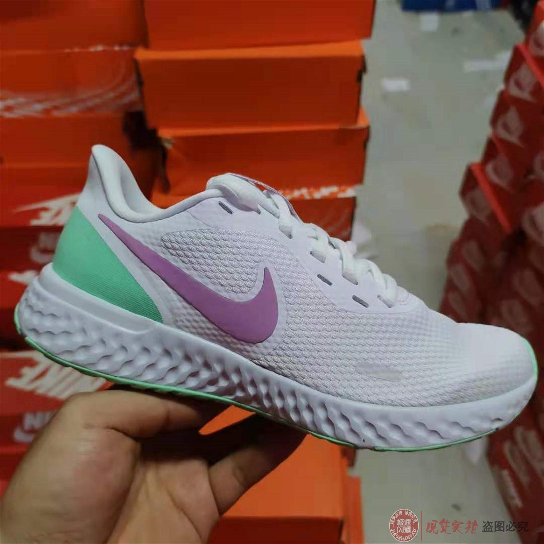 Nike REVOLUTION 5 女鞋缓震轻便跑步鞋运动鞋BQ3207-111-100-108