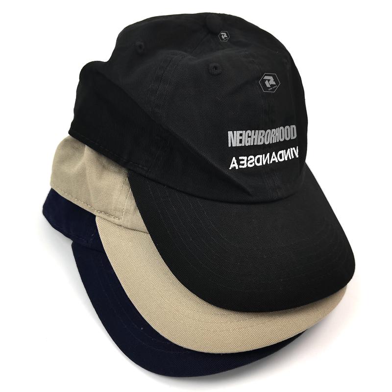 飘渺现货NEIGHBORHOOD WIND AND SEA CAP联名限定鸭舌棒球帽 21SS