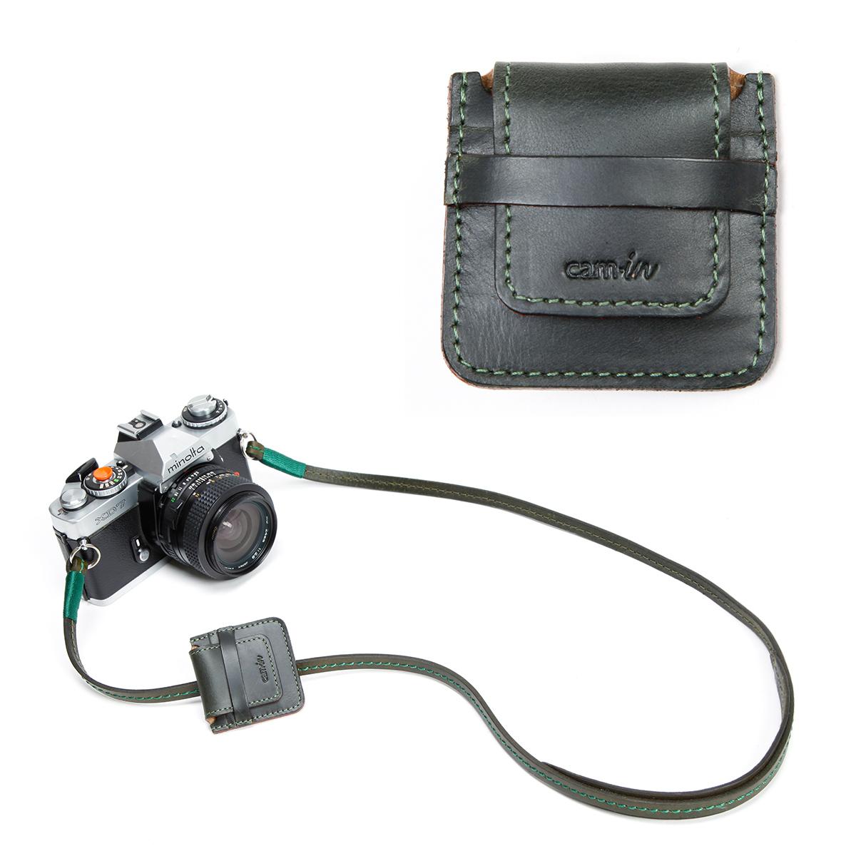 cam-in CF/SD卡 牛皮 真皮保护内存卡包 闪存卡转接套 CA0