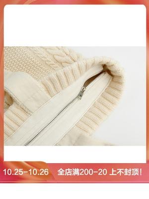 瞌睡兔定制 秋冬凹造型 森系风 毛线手提包包袋子