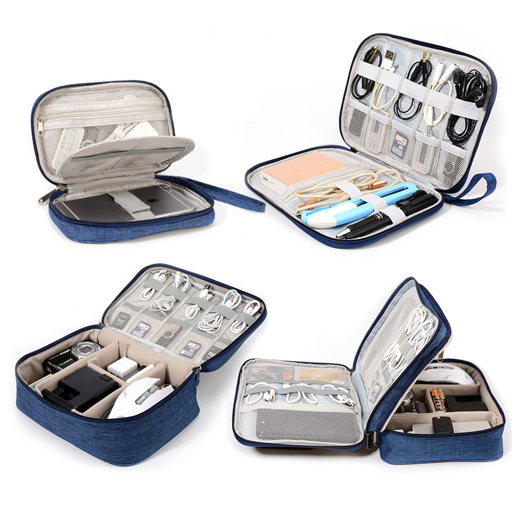 Data line digital storage bag charger charger mobile power travel bag electronic accessories sorting bag