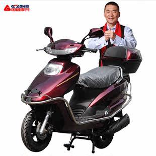 国威五羊公主款男女125CC踏板车摩托车燃油助力车宇雨钻可上牌