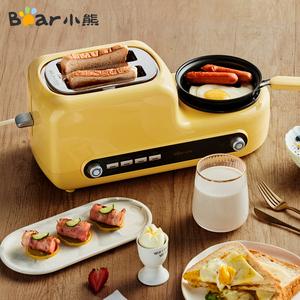 小熊三明治早餐机烤面包片家用多功能小型四合一体多士炉土吐司机
