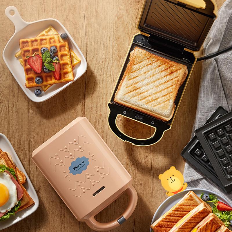 小熊三明治机早餐机家用吐司轻食机