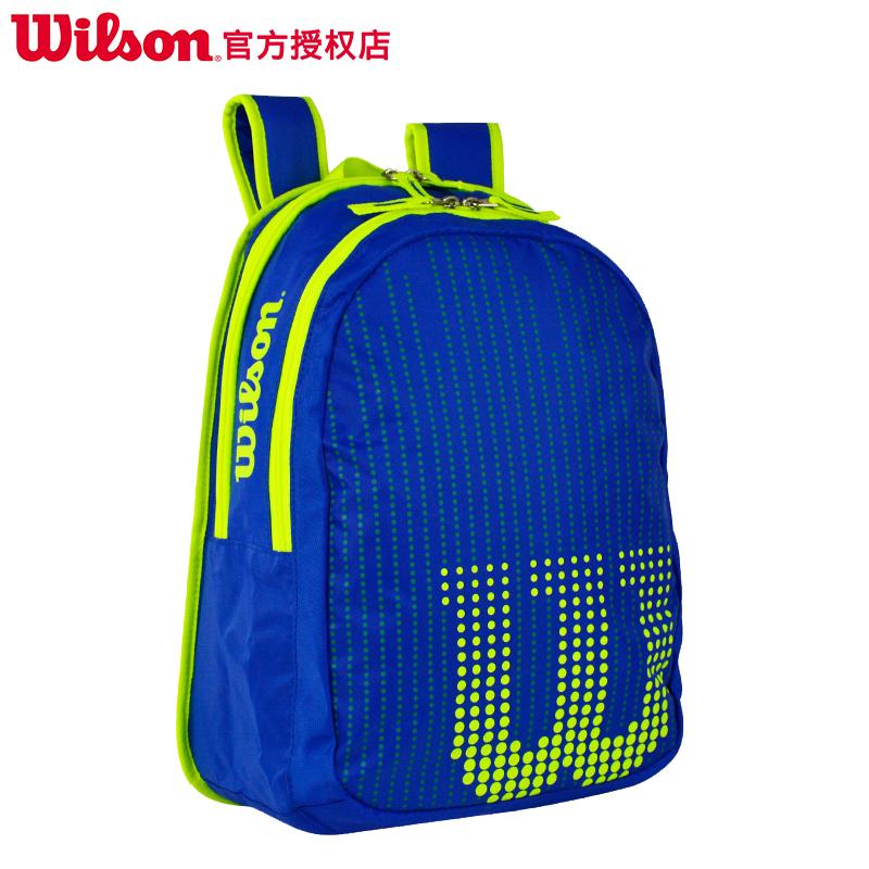 新款Wilson威尔胜儿童网球包多功能双肩背包  JUNIOR网球拍包少年