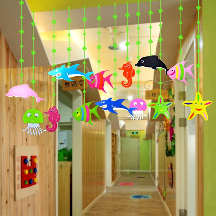 Начать занятия торговый центр детский сад идти галерея очарование учить комната ребенок дом воздуха океан декоративный дельфин рыба день рождения брелок