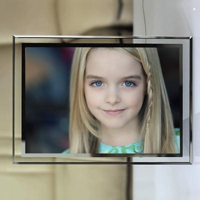 麦肯娜格瑞丝 09 照片定做相框水晶玻璃摆台摆件周边礼物同款应援