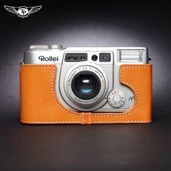 TP原创 Rollei禄来AFM35相机包 富士KLASSE W/S真皮套 牛皮保护套