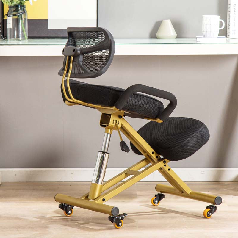 Teenagers study chair can be put flat, writing chair can be adjusted for students home use, and seat back can be adjusted to correct sitting posture