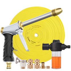 带泡沫壶洗车水枪喷头高压力抢家用接自来水管软管子喷枪刷车神器