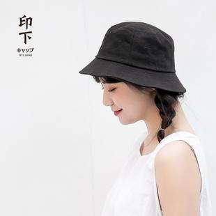 网红遮脸渔夫帽夏季韩版男太阳帽子