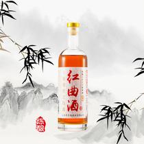 糯米酒义乌黄酒半干型黄酒古法酿造丹溪顶陈红曲酒500ml