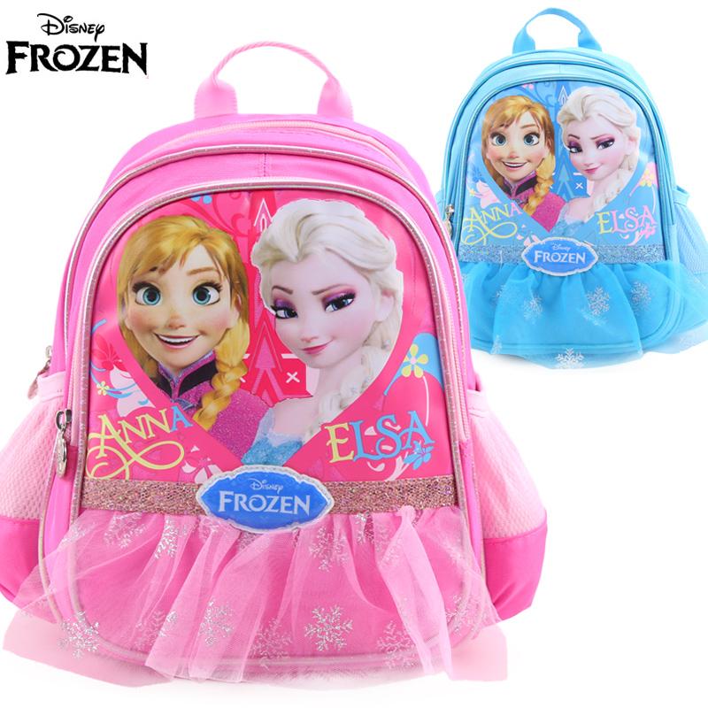 迪士尼冰雪奇緣兒童幼兒園書包小班寶寶女童可愛雙肩包背包3~4歲1