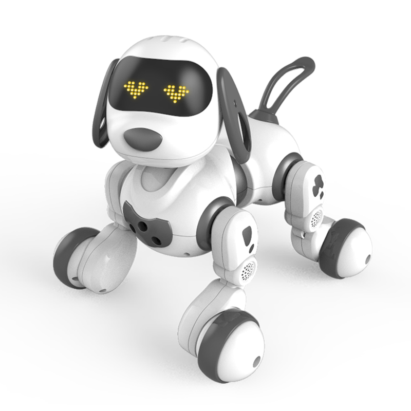 Intelligent machine dog remote control animal dialogue walking robot girl 2-3-5 year old children toy boy gift 4