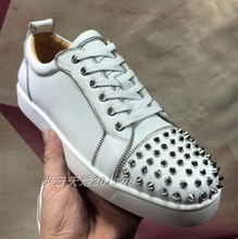 2019 men's and women's dgzbrv couple shoes leather lace up GZ men's shoes silver Liuding trend casual women's shoes