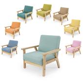 儿童沙发座椅实木沙发迷你儿童幼儿园读书角阅读宝宝椅子小沙发椅