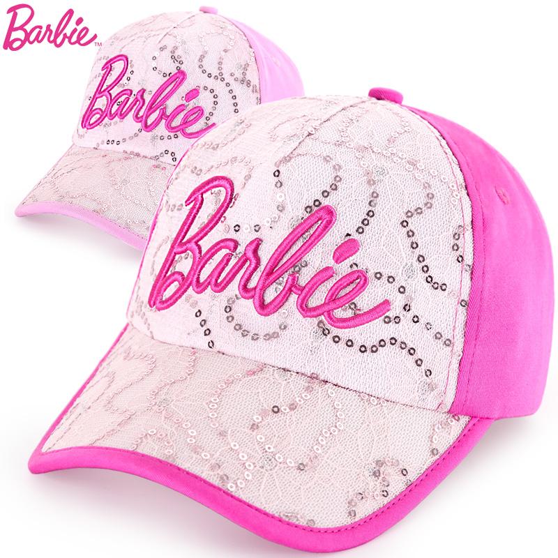 芭比純棉公主寶寶鴨舌帽