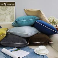 凡邦北欧抱枕女ins现代纯色简约家用腰靠枕头沙发靠垫汽车抱枕套