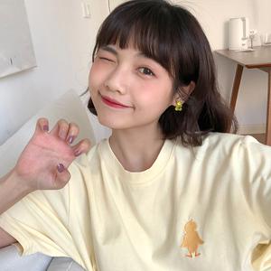领1元券购买软糖萌系小动物土酷少女韩国风耳环