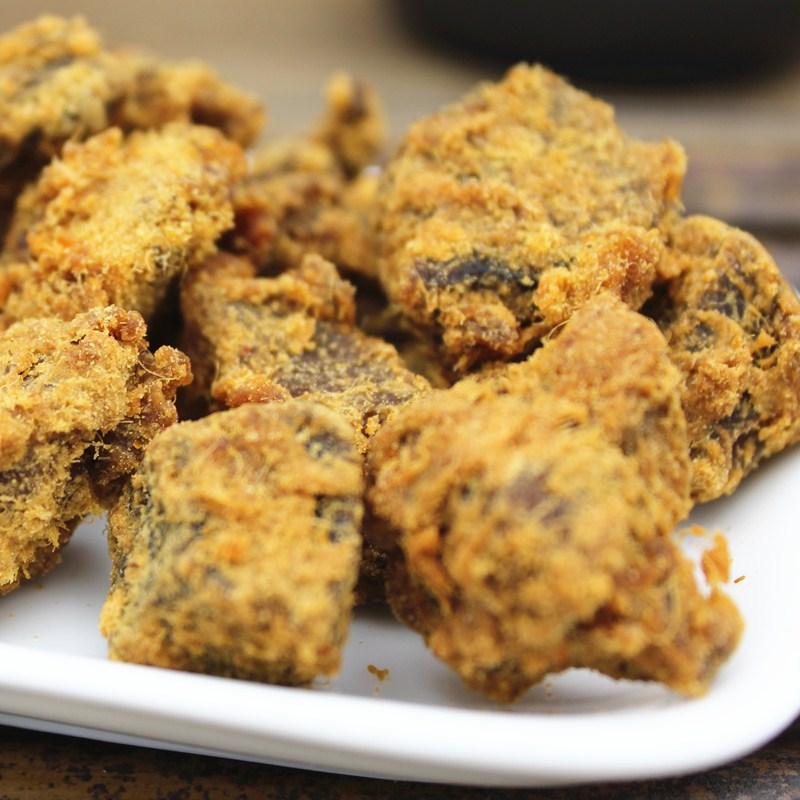 台湾风味XO酱烤肉粒200g/袋猪肉干特产休闲猪肉类零食品小吃包邮