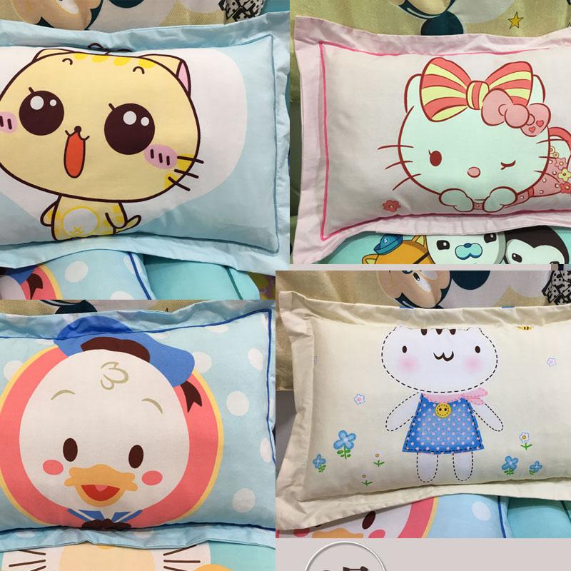 儿童枕头小孩枕头小学生6-10岁3-6岁四季通用2卡通幼儿园宝宝夏天
