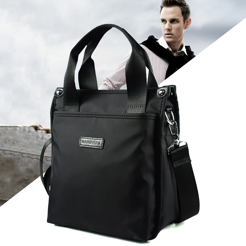 2020 new mens Handbag Shoulder Bag Oxford cloth sail cloth bag classic fashion Korean version of mens bag
