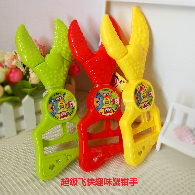 Golden rice super Feixia toy candy crab tongs 5g crab tongs