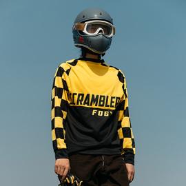 福禄车库scrambler夏季防晒速干衣 VMX越野摩托车降温透气长袖T恤