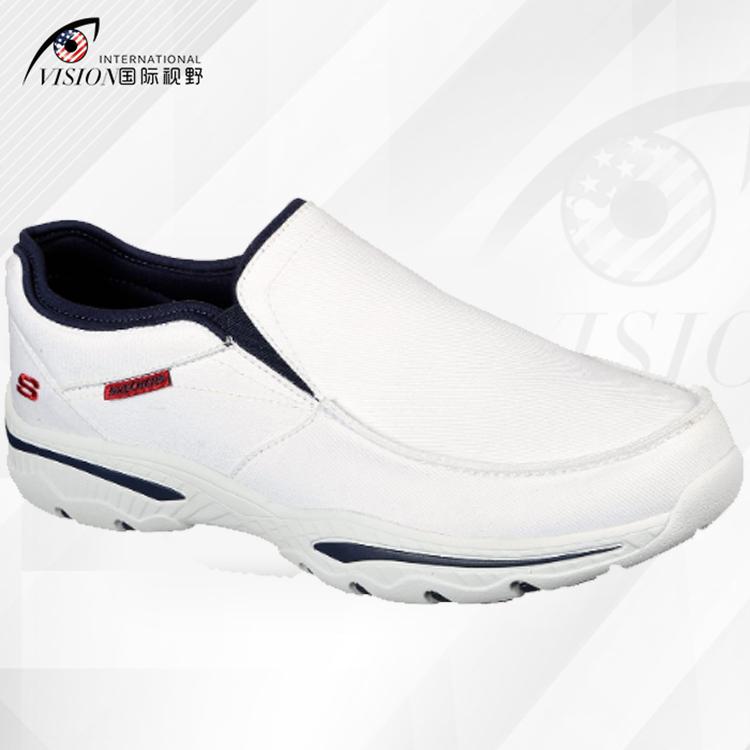 Skechers 斯凯奇男鞋男2020新款一脚蹬透气健步休闲懒人鞋65355