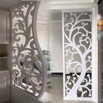 定制鏤空雕花板隔斷過道花格吊頂客廳玄關歐式背景墻屏風通花板