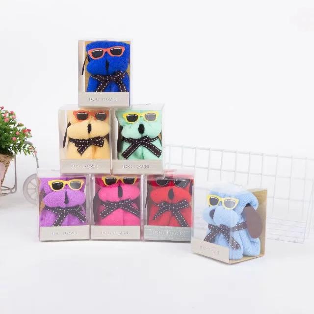 圣诞节活动创意实用小礼品蛋糕毛巾小狗印logo结婚回礼伴手礼批發