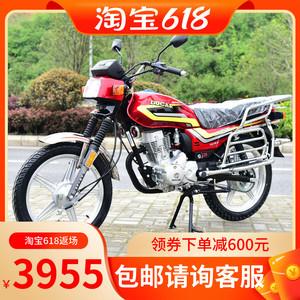 全新复古电喷大江牌五羊款平衡轴150cc省油男装摩托车整车可上牌