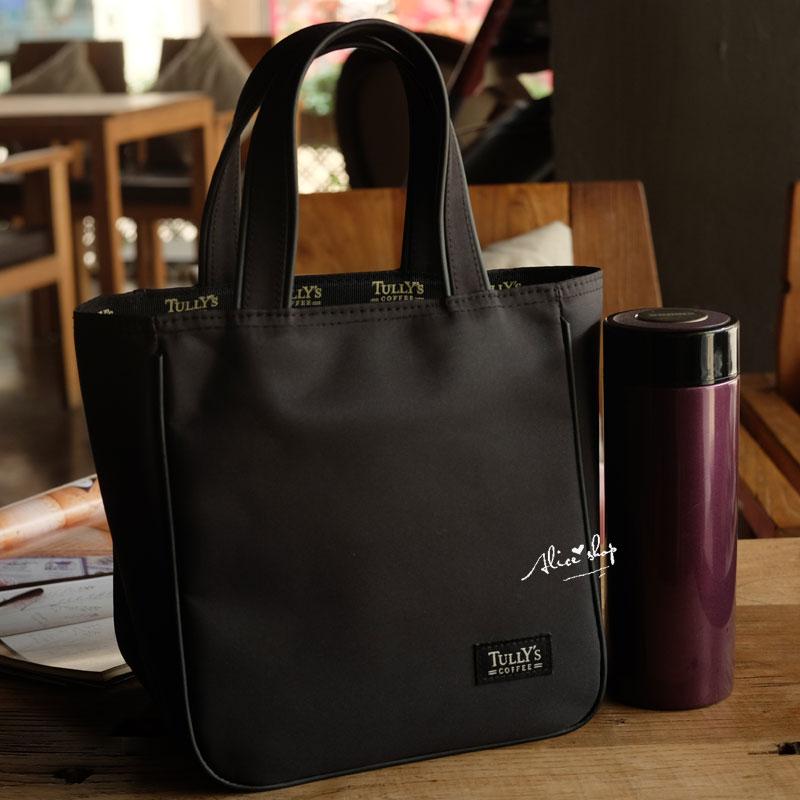 包邮 日式手拎包 加厚耐脏防水便当包便当袋饭盒袋有水杯位拉链款