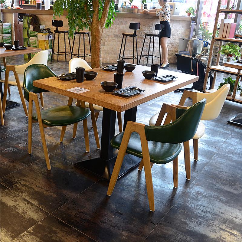 Винтаж Кафе стол и стул сочетание десертный чай магазин столы и стулья закусочный фаст-фуд ресторан стол и стулья обеденный стол и стулья