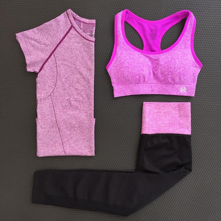 Йога одежда фитнес женская одежда комплект из 3 предметов фитнес дом движение короткий рукав бег 7 минут штаны движение тонкий в моделье