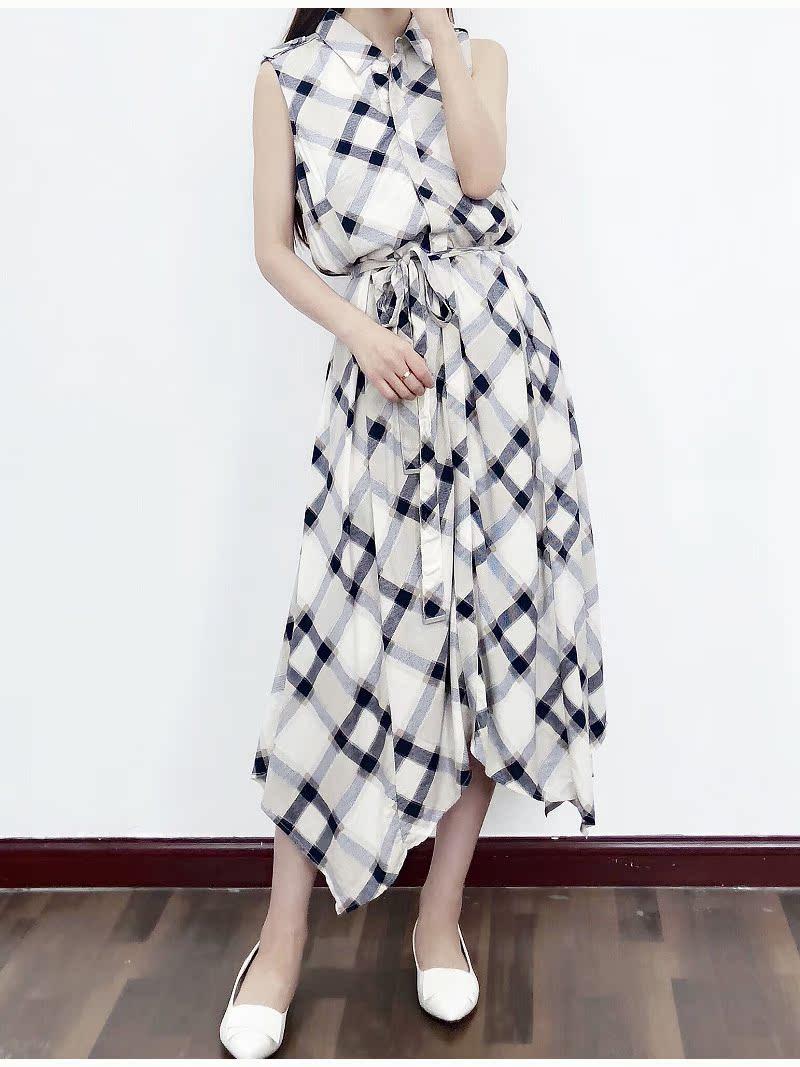 119.5刀!高端DRESS!法式格子连衣裙 轻奢有大码