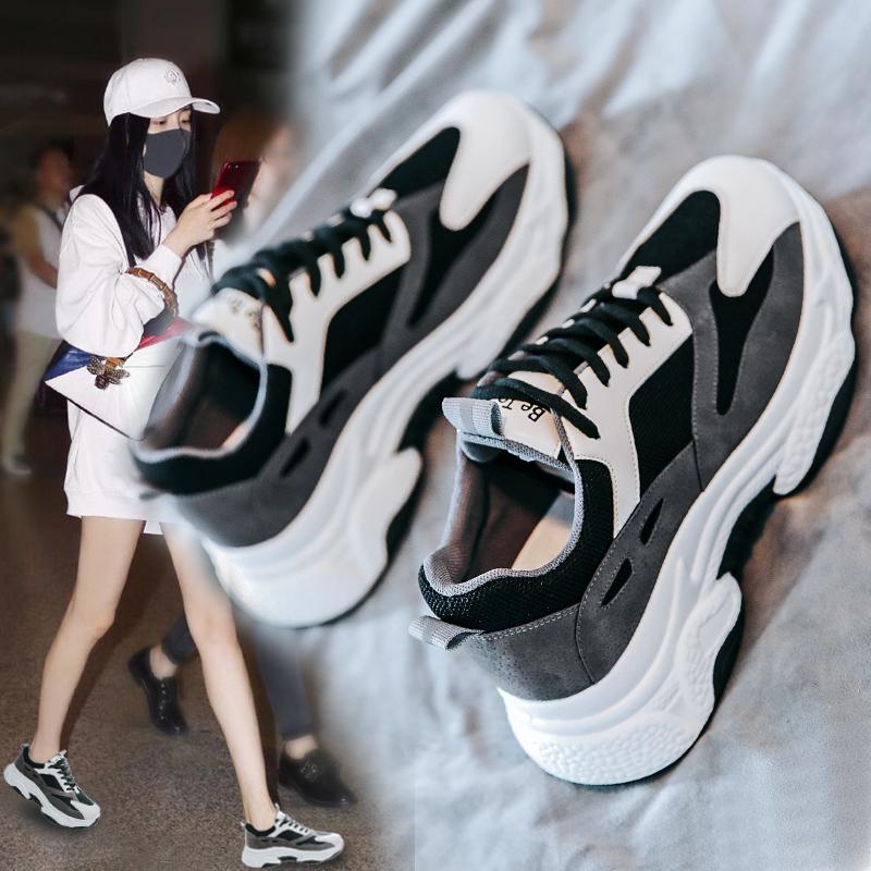 小范范熊猫老爹女ins潮2019运动鞋169.00元包邮