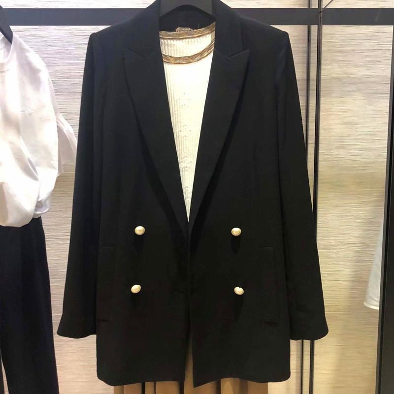希哥弟思媞女装专柜正品2020春装新款职业西装高级感西服外套