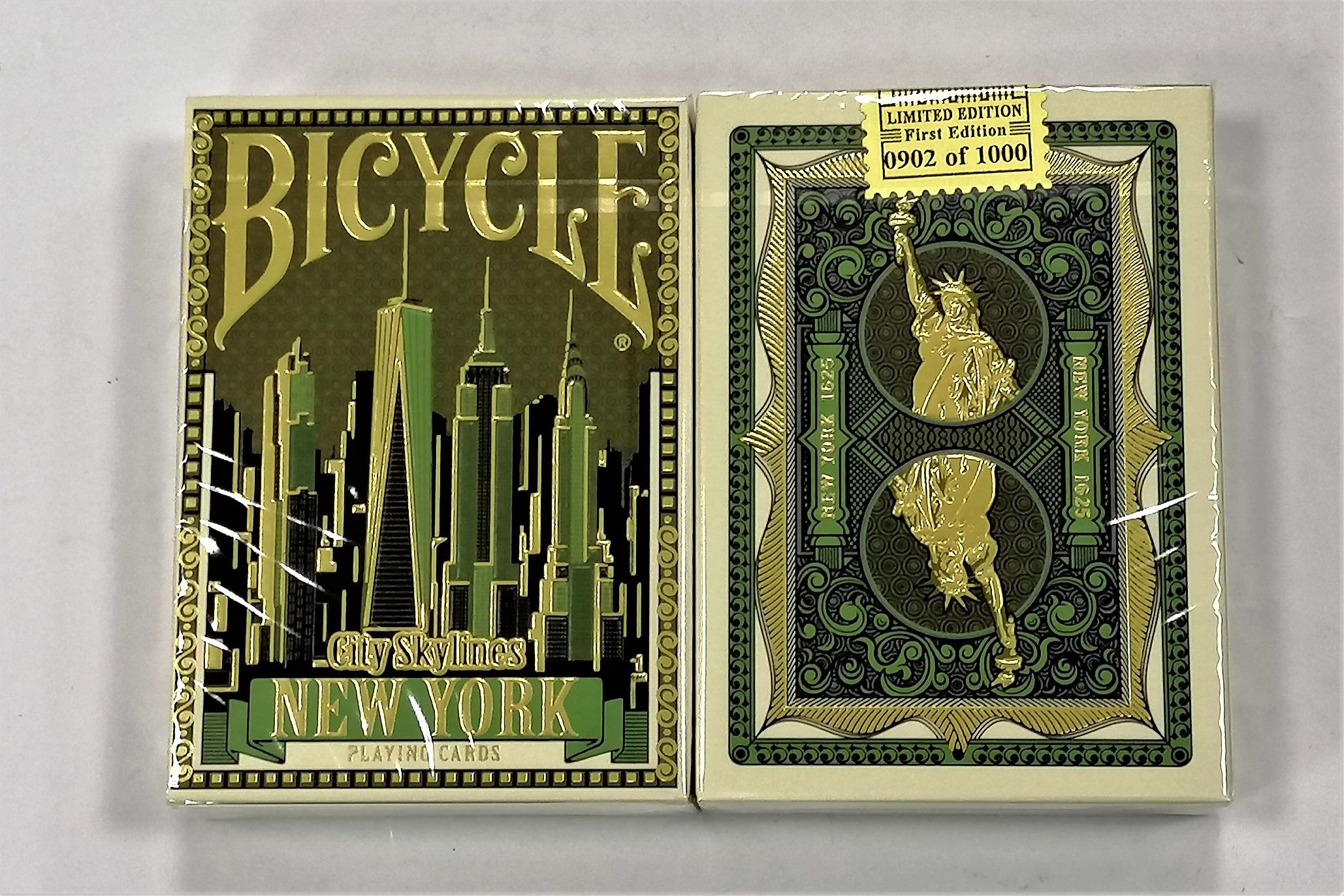 [包郵] 美國Bicycle City Skylines 城市天际线 纽约 限量 撲克牌