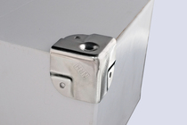 304 Stainless steel Air box accessories Aluminum box Toolbox Aluminum box pressure angle three bread angle 40*40 angle Guard
