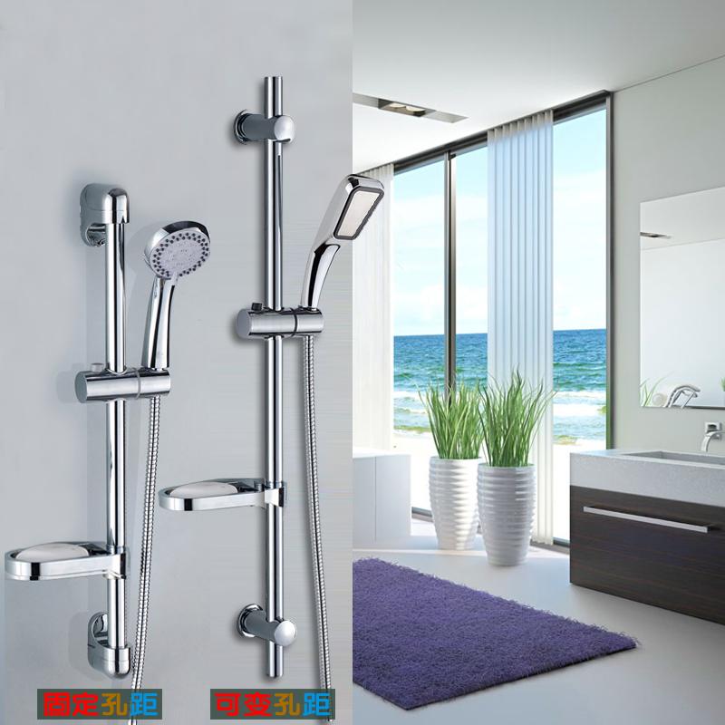 花灑支架升降杆手持淋浴噴頭軟管不鏽鋼可調節蓮蓬頭底座浴頭支架