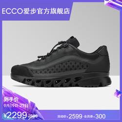 ECCO爱步透气运动鞋休闲鞋男 2019秋季新款防滑低帮鞋 翱翔880114
