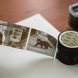 蔷薇海洋 朴春手帐胶带 日本的生活气息 PET透明胶带手账装饰素材图片