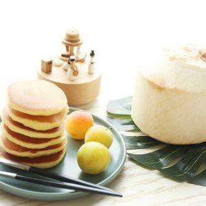 椰香松饼华夫饼预拌粉无添加舒芙蕾自制家用亲子烘焙蛋糕宝宝点心