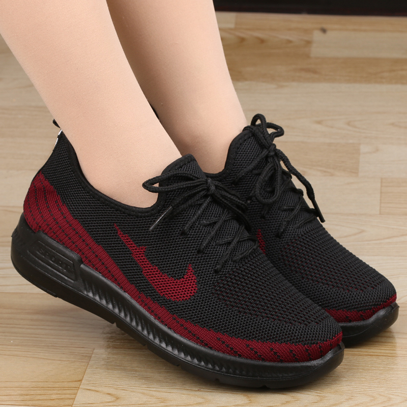 限20000张券老北京布鞋中老年一脚蹬软底运动鞋