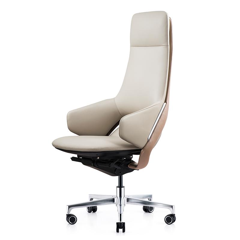 温迪意式极简真皮时尚轻奢老板椅质量怎么样