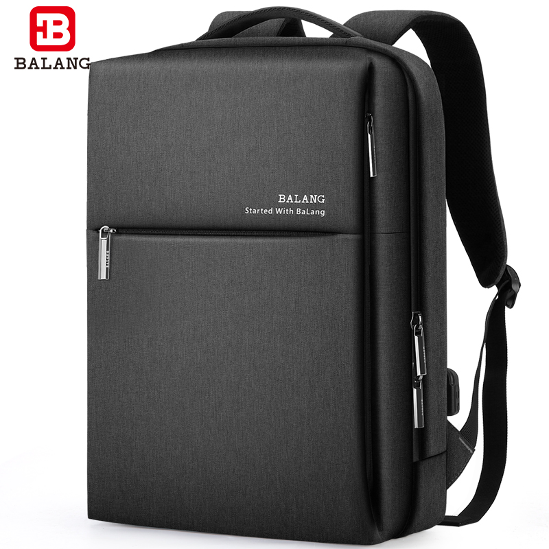 Business computer backpack men's backpack fashion trend simple school bag casual business travel 2020 new